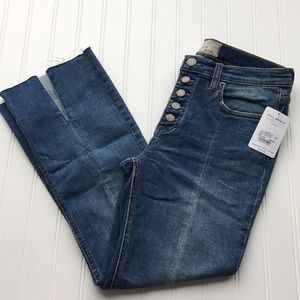 Free People cropped jeans, size 28